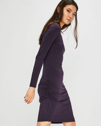 Платье миди однотонное винтажная Medicine