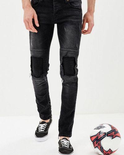 Черные джинсы-скинни Mezaguz