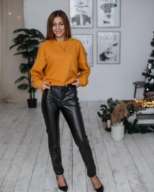 Домашние брюки с карманами с кокеткой на молнии Lovitton