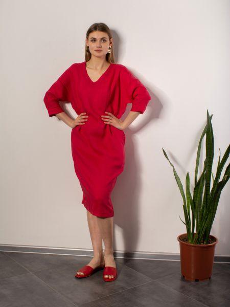 Повседневное платье - красное Mariolli