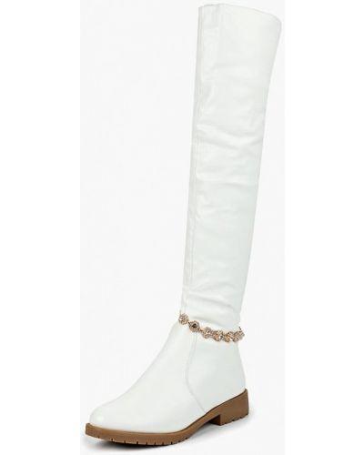 Ботфорты на каблуке кожаные Vivian Royal