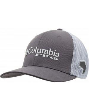 Бейсболка серая с сеткой Columbia