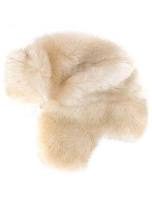 Классическая шапка-ушанка с завязками из искусственного меха La Seine & Moi