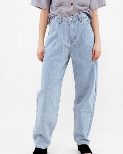 Широкие джинсы - голубые Dorogobogato