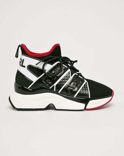 Кожаные кроссовки текстильные мягкие Karl Lagerfeld