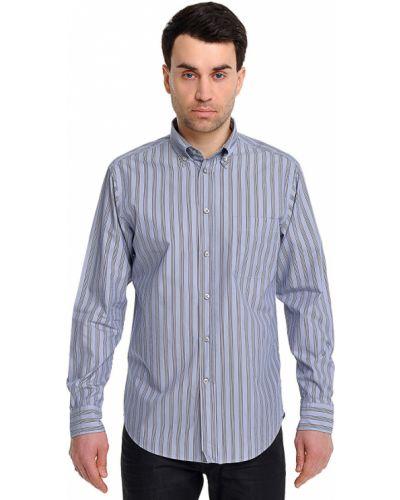 Рубашка шелковая хлопковая Ermenegildo Zegna