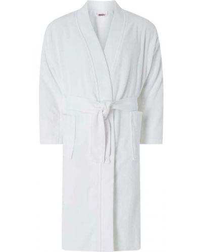 Biały szlafrok bawełniany Kenzo