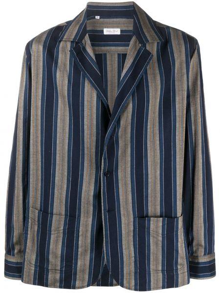 Темно-синий пиджак Salvatore Piccolo