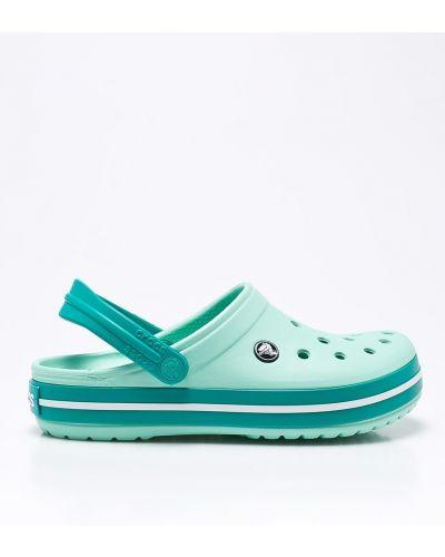 Сандалии мятного цвета Crocs