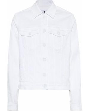 Джинсовая куртка летняя куртка-жакет 7 For All Mankind