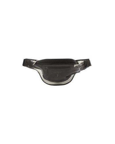 Ремень прозрачный черный Calzetti