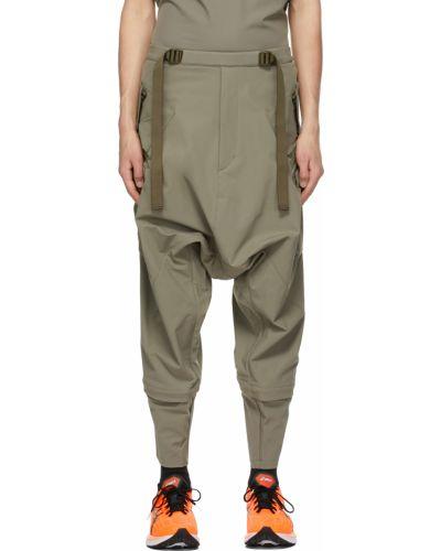 Spodnie khaki z paskiem z nylonu Acronym