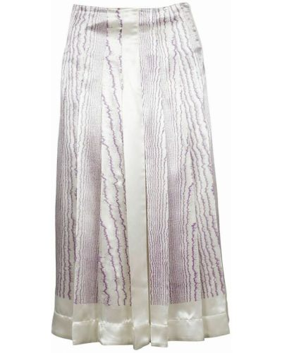 Spódnica - fioletowa Victoria Beckham