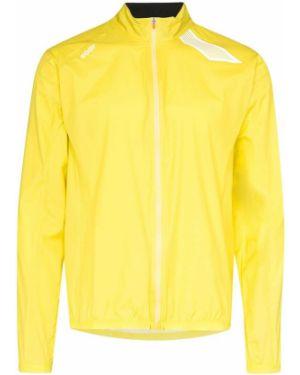 Желтая спортивная куртка с манжетами на молнии с карманами Soar