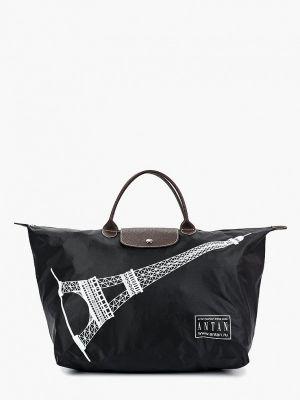 Черная дорожная сумка Antan