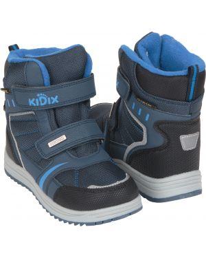 Ботинки синие Kidix