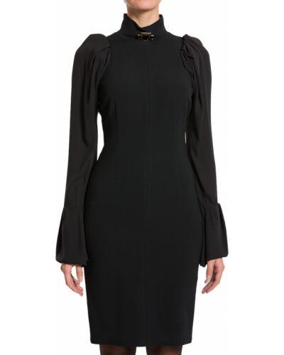 Платье из вискозы осеннее Elisabetta Franchi