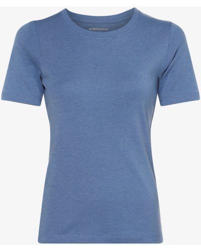 Klasyczny niebieski t-shirt Brookshire