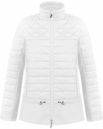 Белая стеганая куртка Poivre Blanc
