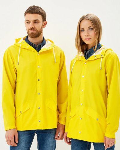 Плащ желтый Rains