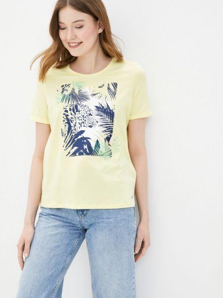 Желтая футбольная футболка Gerry Weber