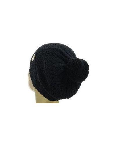 Черная шапка шерстяная Ea7