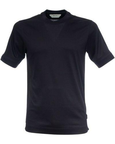 Niebieska t-shirt Ermenegildo Zegna