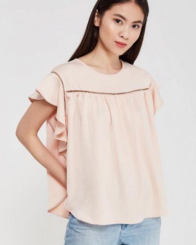 Бежевая блузка Imperial