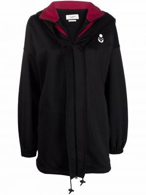 Черная куртка с капюшоном Isabel Marant étoile