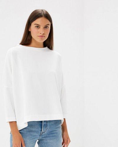 Блузка с длинным рукавом белая весенний Ruxara