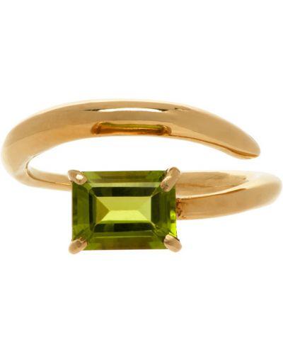 Złoty pierścionek szmaragd Faris