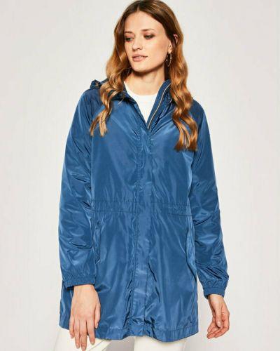 Синяя водонепроницаемая куртка Geox