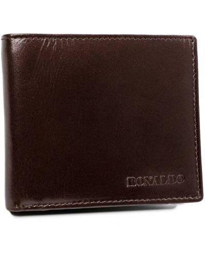 Brązowy portfel na monety skórzany na co dzień Ronaldo