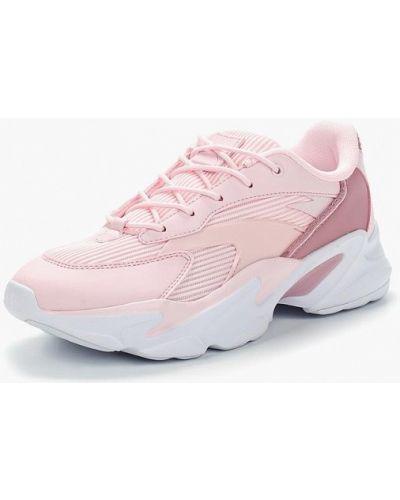 Кроссовки из искусственной кожи розовый Anta