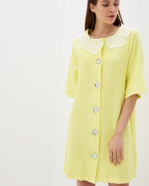 Домашний халат - желтый Lelio