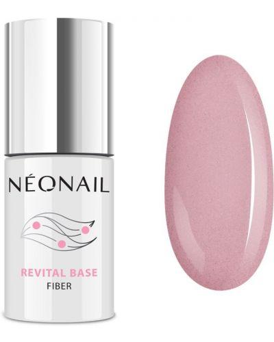 Базовый розовый лак для ногтей Neonail
