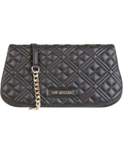 Czarna torba na ramię Love Moschino