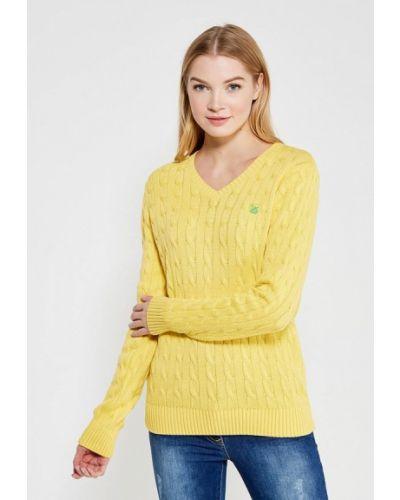 Пуловер турецкий желтый Giorgio Di Mare