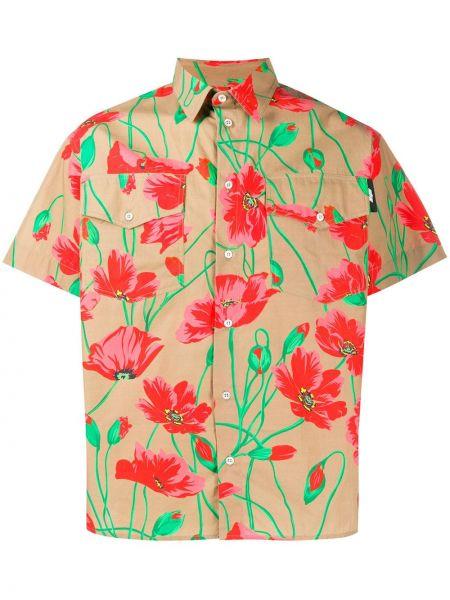 Koszula krótkie z krótkim rękawem klasyczna z kołnierzem Msgm