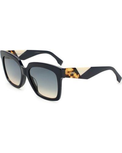 Солнцезащитные очки с градиентом стеклянные Fendi