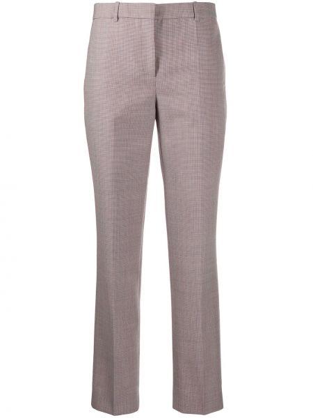 Spodnie z wysokim stanem z kieszeniami białe Givenchy