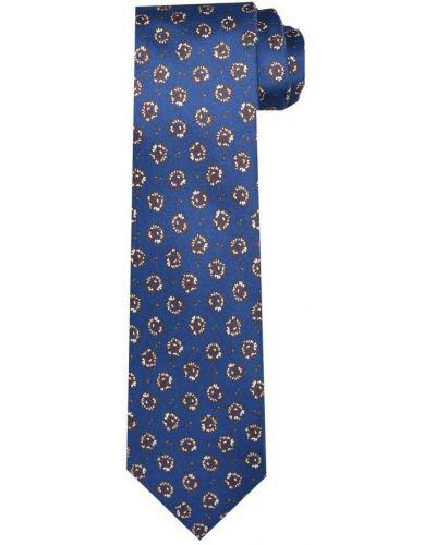 Niebieski krawat Gierre Milano