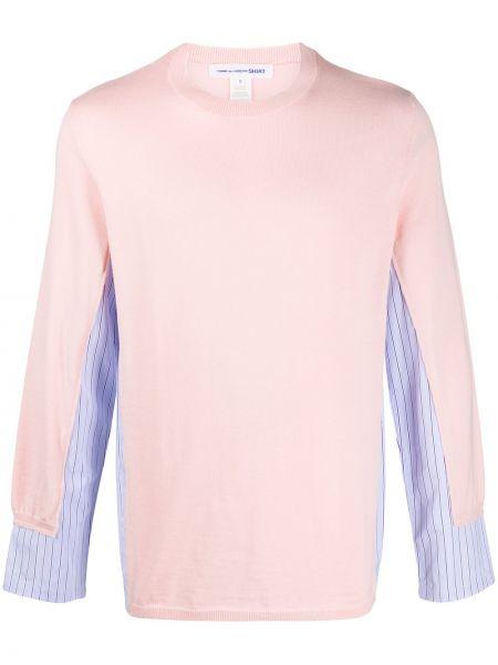 Koszula z długim rękawem fioletowy karmazynowy Comme Des Garcons Shirt