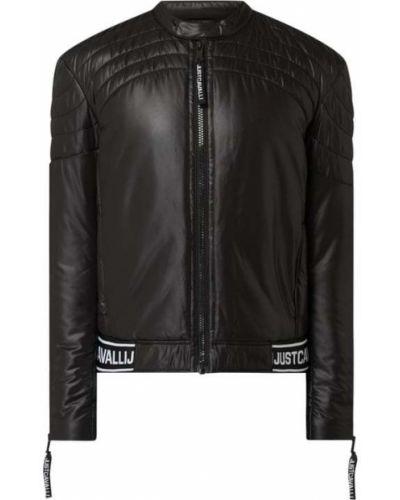 Czarna kurtka pikowana Just Cavalli