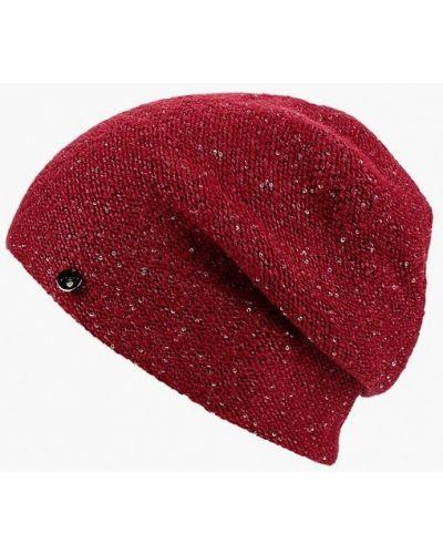 Бордовая демисезонная шапка Ferz