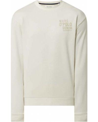 Bluza z nadrukiem z printem - beżowa Marc O'polo Denim