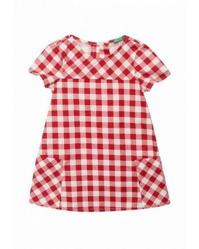 Красное платье United Colors Of Benetton