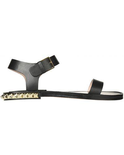 Черные сандалии Stuart Weitzman