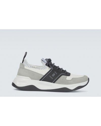 Czarne sneakersy zamszowe Berluti