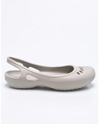 Балетки серые Crocs